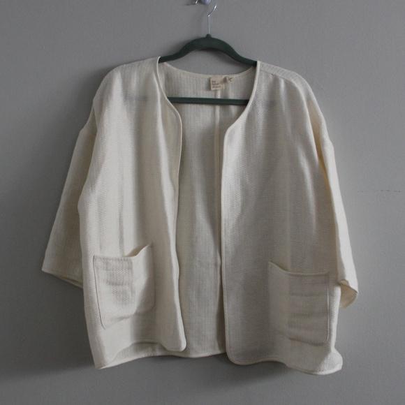 Eileen Fisher Jackets & Blazers - The Fisher Project Eileen Fisher Organic Jacket